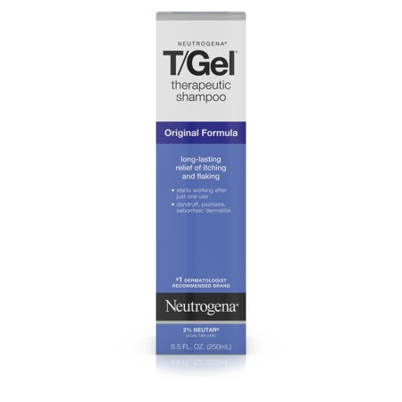 Neutrogena T/Gel Therapeutic Dandruff Treatment Shampoo, 8.5 fl. - Neutrogena Coal Tar Shampoo
