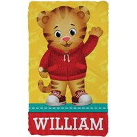 Personalized Daniel Tiger Kids' Throw Blanket - Hello Daniel