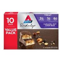 Atkins Endulge Caramel Nut Chew Bar, 1.2oz, 10-pack (Treat)