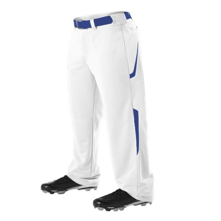 Alleson Adult Relaxed Fit - 2 Color Open Bottom Baseball Pants (Alleson Two Color)