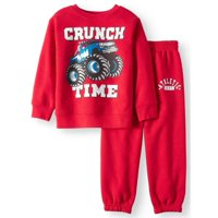 Garanimals Graphic Sweatshirt & Sweatpants, 2pc Outfit Set (Toddler Boys)