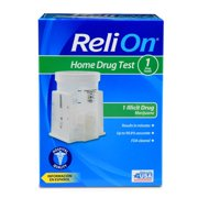 ReliOn Home Drug Test Kit, 1 Drug Tested