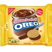 Oreo Chocolate Hazelnut Creme Sandwich Cookies, 10.7 oz