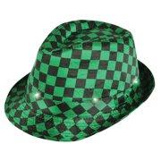 35ab98bf8e5b3 Rubies Costume Co. St. Patrick s Day Light Up Checkered Fedora