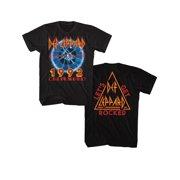 b977f071e1e Def Leppard 1992 Adrenalize Tour Tee Shirt - Black