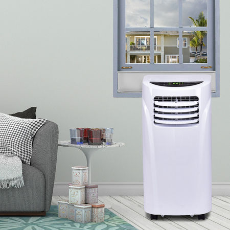 Costway 10000 BTU Portable Air Conditioner & Dehumidifier Function Remote w/ Window Kit (Unif Clearance)