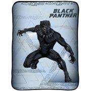 Marvel Black Panther 62 x 90 Plush Blanket
