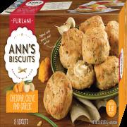 Ann's Biscuits Cheddar Chive & Garlic Biscuits, 8 ct, 11.3oz