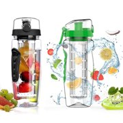 1df9d281ea VicTsing 32oz Infuser Water Bottle, Sport Fruit Infuser Water Bottle,  Toxin-Free,