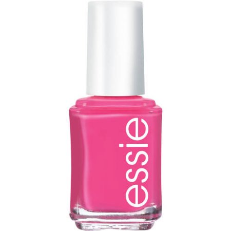 essie Nail Polish (Pinks), Watermelon, 0.46 fl oz (Halloween Nail Tutorial Short Nails)