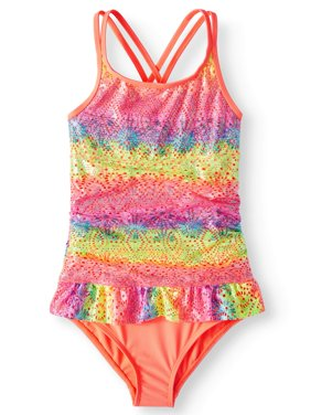 Ruffled One-Piece Swimsuit (Little Girls, Big Girls & Big Girls Plus)