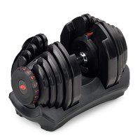 Bowflex SelectTech 1090 Adjustable Dumbbell Syncs with SelectTech App & Space Saving (Single)