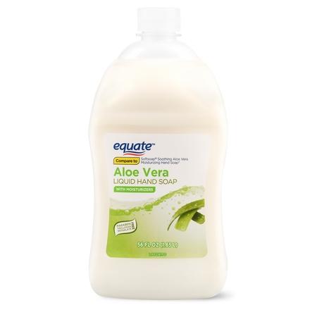 Algae Liquid - (2 pack) Equate Liquid Hand Soap, Aloe Vera, 56 Oz