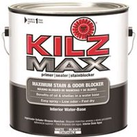 Kilz Max Water-Based Primer, Interior, White, 1 Gallon