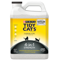 Purina Tidy Cats 4-in-1 Strength Clumping Cat Litter, 20-lb Jug