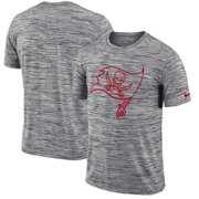 917e8f11a8b3 Tampa Bay Buccaneers Nike Sideline Legend Velocity Travel Performance T- Shirt - Heathered Black