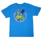 The Simpsons Family Men s Sky Blue Shirt 752cf667b