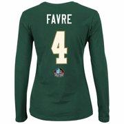 Brett Favre Green Bay Packers NFL Majestic Women s Green