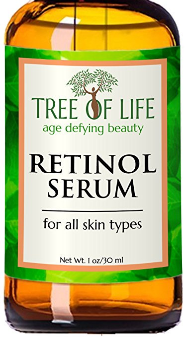 Retinol Serum - 72% ORGANIC - Clinical Strength Retinol Moisturizer - Anti Aging Anti Wrinkle Facial Serum - Vegan, Cruelty Free, Made in the