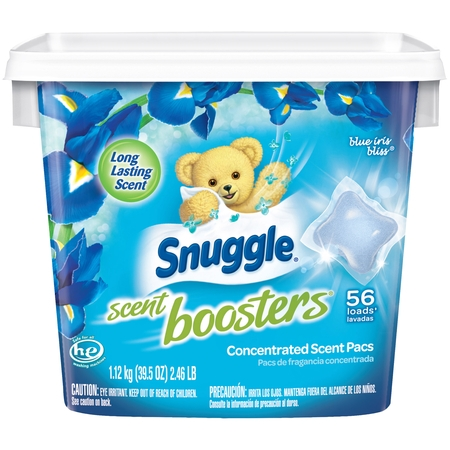 Count Booster (Snuggle Scent Boosters Blue Iris Bliss, 56 Count )