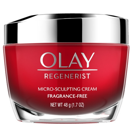 - Olay Regenerist Micro-Sculpting Cream Face Moisturizer, Fragrance-Free 1.7 oz