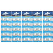 Insten 50 pcs AG13 357 L1154 Alkaline 1.5V Watch Coin Button Battery Replaces 50-Count