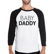 d48f18884 Baby Daddy Family Matching Baseball Shirt Funny Gifts For New Dads