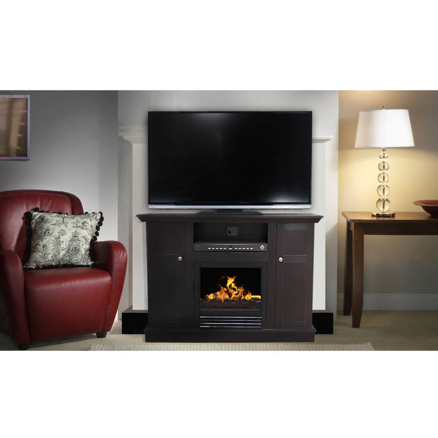 """Decor Flame Bailey 48"""" Media Fireplace, for TVs up to 55 ..."""