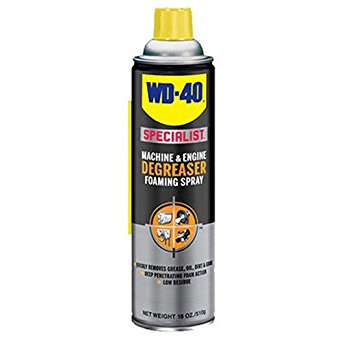 WD-40 Specialist Machine and Engine Degreaser Foaming Spray