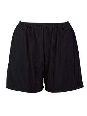 Women's Plus-Size Swim Shorts Full Coverage Swim Bottoms