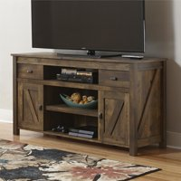 "Better Homes and Gardens Falls Creek 60"" TV Stand, Weathered Dark Pine"