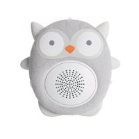 SoundBub by WavHello, White Noise Machine and Bluetooth Speaker, Portable and Rechargeable Baby Sleep Sound Soother | Ollie the Owl, Grey