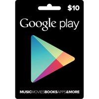 Interactive Commicat Google Play D5 $10 Card