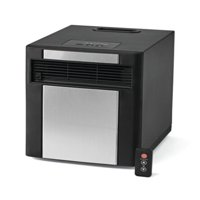 Mainstays Infrared Electric Cabinet Heater, Black/Grey, DF1515