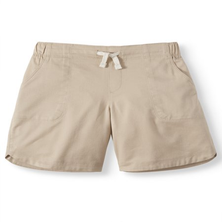 Wonder Nation Pull-on Bermuda Short (Little Girls, Big Girls & Big Girls Plus) ()