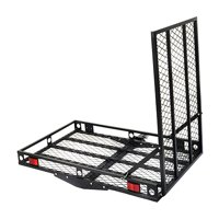 Costway 500lbs Strong Wheelchair Hitch Carrier Mobility Electric Scooter Loading Ramp