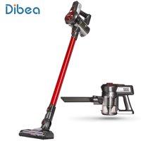 Dibea C17 Cordless 2 in 1 Lightweight Stick Handheld Vacuum Cleaner, Red