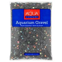 (2 Pack) Aqua Culture Neon Starry Night Aquarium Gravel, 5 lb