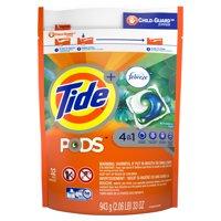 Tide PODS with Febreze, Liquid Laundry Detergent Pacs, Botanical Rain, 32 count