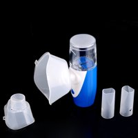 Multifunctional Portable Ultrasonic Mesh Nebulizer Handheld Nebuliser Humidifier Adult Kids