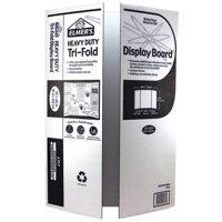 Elmer's Heavy Duty Tri-Fold Display Board, White, 36x48 Inch