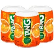 (12 Pack) Tang Orange Powdered Drink Mix, 20 oz Jar