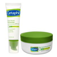 15% OFF! Cetaphil Day and Night Face Moisturizer Regimen Bundle