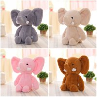 Girl12Queen Mini Lovely Elephant Stuffed Animals Kids Baby Soft Plush Toy X-mas Gift Doll