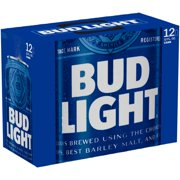 Bud Light Beer, 12 pack, 12 fl oz cans
