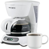 Mr. Coffee Simple Brew Switch Coffee Maker, 4-Cup, Black (TFS Series)