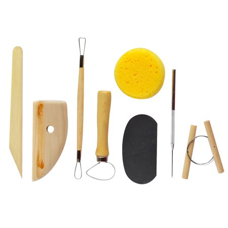 Art Advantage Pottery Tool Kit 8 Piece Set