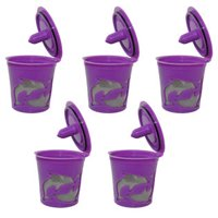 Keurig K-cups Keurig 2.0 Reusable Refillable K-cup Filter Pod for Keurig 2.0 and 1.0 Brewers, 5-Pack