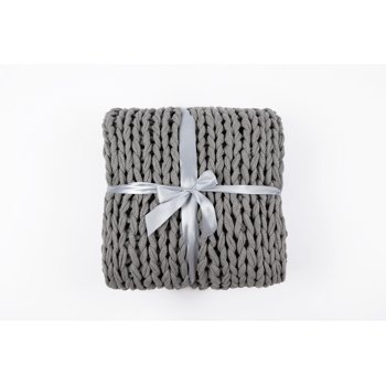 Silver One Super Chunky Knitted 50