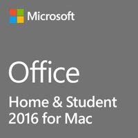 Microsoft Office 2016 Home & Student 1 Mac Non-commercial, Medialess Office Suite Box Intel-based Mac English